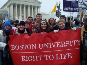 BU Students for Life- 2012