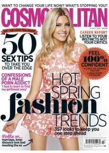 Cosmo March 2014 cover