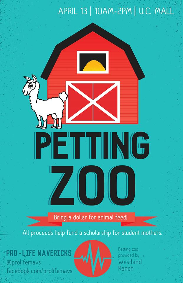 Pro-Life Mavericks- Petting Zoo