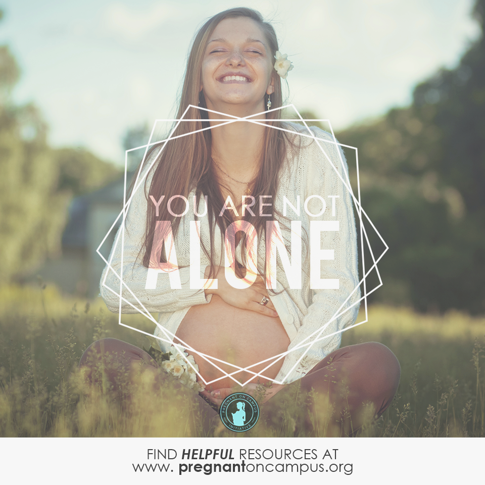 PonC- You are not alone- Young Woman in Field