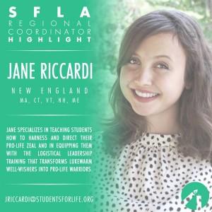 Jane Riccardi- SFLA New England