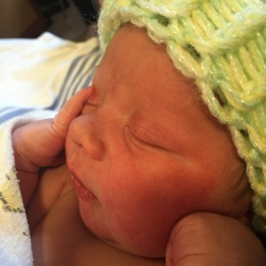 Baby Thaddeus Rahal
