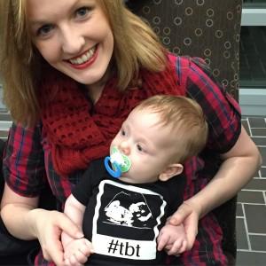 Beth Rahal and Teddy- TBT